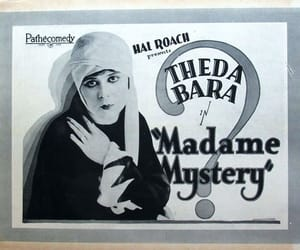 theda bara and madame mystery image