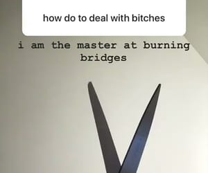 bitch, deal, and lol image