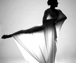 art, b&w, and ballet image