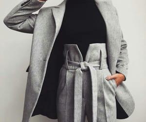 elegant, gray, and fashion image