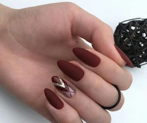 manicure, nails, and wow image