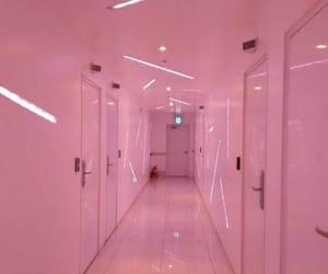 pink, aesthetic, and door image