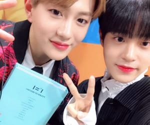 golden child, wanna one, and choi bomin image