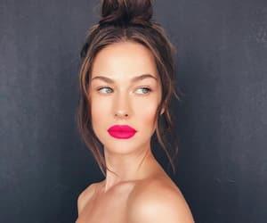 blush, fuchsia, and full lips image
