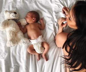 babies, baby, and mother image