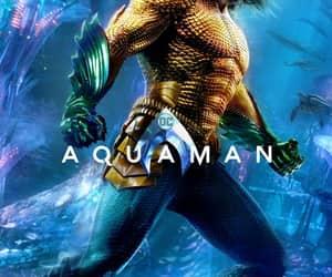 aquaman, art, and comic image