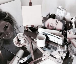 art, drinks, and artist image