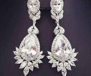 accessories, earings, and diamond image