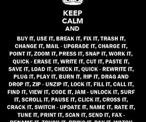 keep calm, daft punk, and technology image