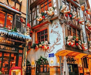 christmas, architecture, and buildings image