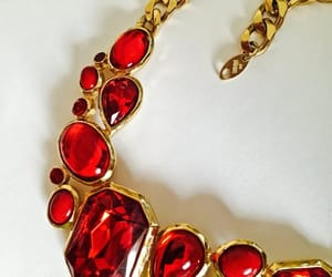 chain necklace, jewellry, and statement necklace image
