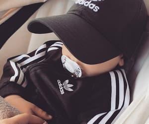 baby, adidas, and boy image