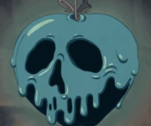 candy apple, gif, and skull image