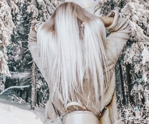 blonde, feed, and hair image