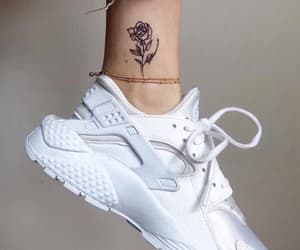 tattoo and white image