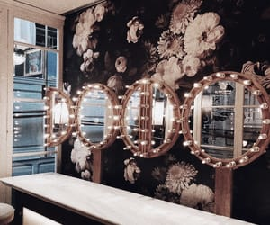 decor, lights, and mirrors image