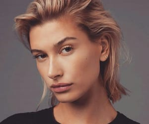 beauty, model, and hailey baldwin image