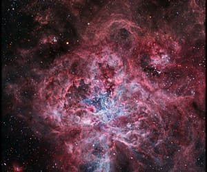 galaxy, hubble, and nasa image