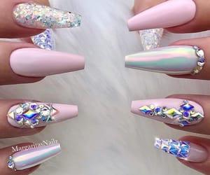 claws, nail art, and nails image