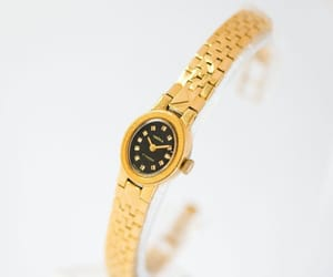 etsy, mechanical watch, and montre femme image