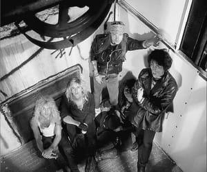Guns N Roses, axl rose, and izzy stradlin image