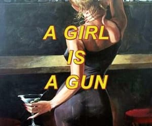 fuck, Hot, and gun image