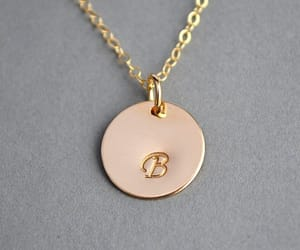 etsy, gold, and monogram image