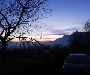 bello, blue, and mountain image