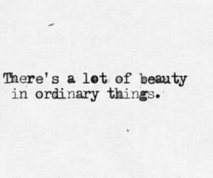 quotes, beauty, and ordinary image