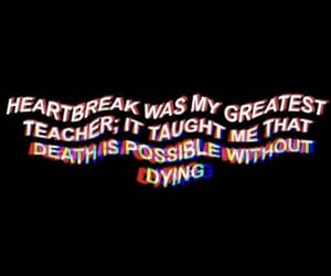 broken, dying, and heart image
