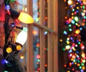 christmas lights, holiday, and christmas vibes image