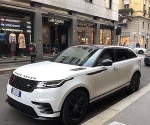 2011 White Range Rover