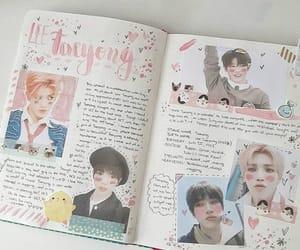 kpop, taeyong, and bullet journal image