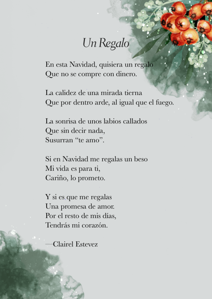 Un Regalo Es Un Poema De Amor Navideño On We Heart It