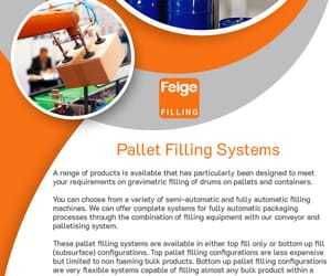 conveyor systems, palletizing system, and liquid filling equipment image