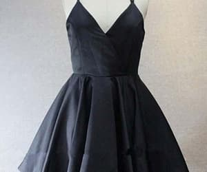prom dress, homecoming dresses, and black homecoming dresses image