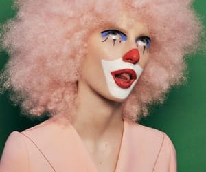 aesthetic, clown, and pink image