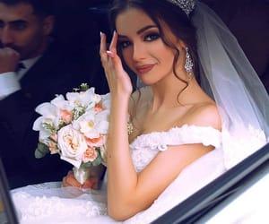 belleza, wedding dress, and boda image