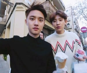 exo, d.o, and chanyeol image
