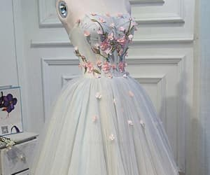 short prom dress, custom prom dress, and prom dress with appliques image