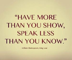 king lear, william shakespeare, and you know image