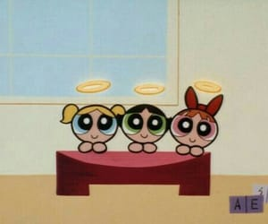 cartoon, powerpuff girls, and aesthetic image