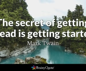 mark twain, the secret, and getting ahead image