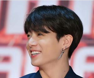 blue, jungkook, and earrings image