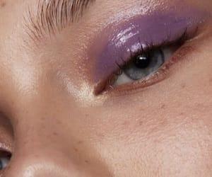 lilac and makeup image