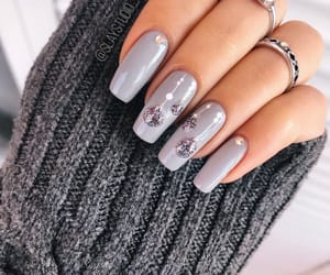 beautiful, soft, and nail design image