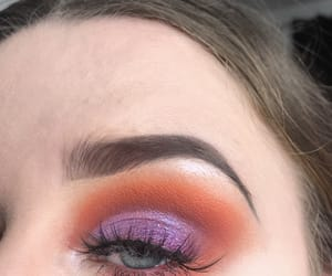 eyebrows, makeup, and eyeshadow look image