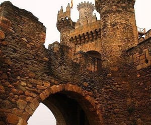 castle, spain, and architecture image