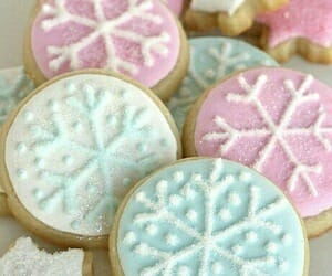 Cookies, snowflake, and christmas image