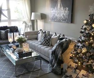 christmas, house, and room image